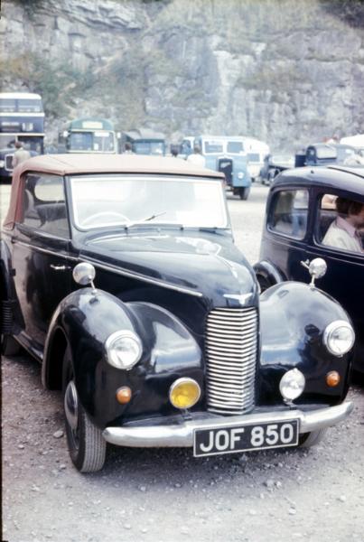 Hillman Minx MKII Saloon De Luxe (1947-1948) - 1184.5cc