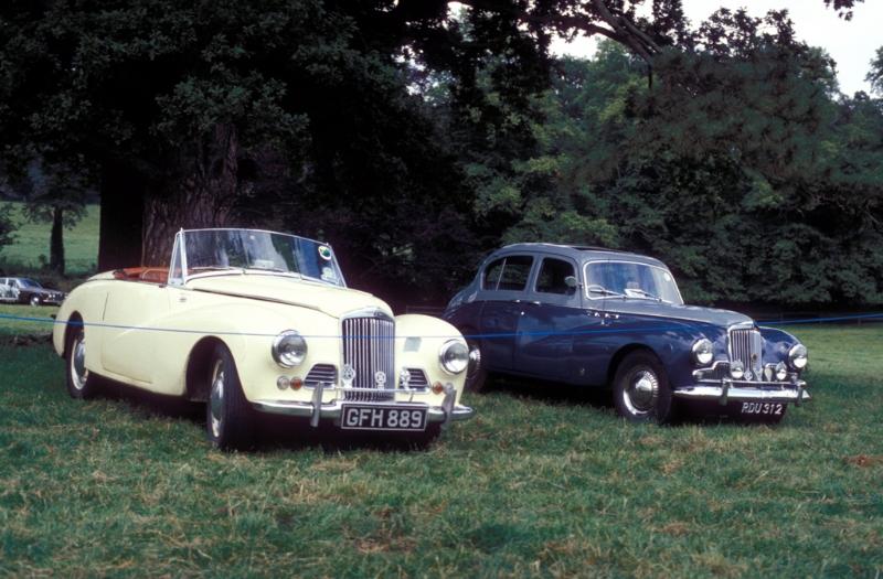 Sunbeam Alpine MKIIA (1953-1954) - 2267cc