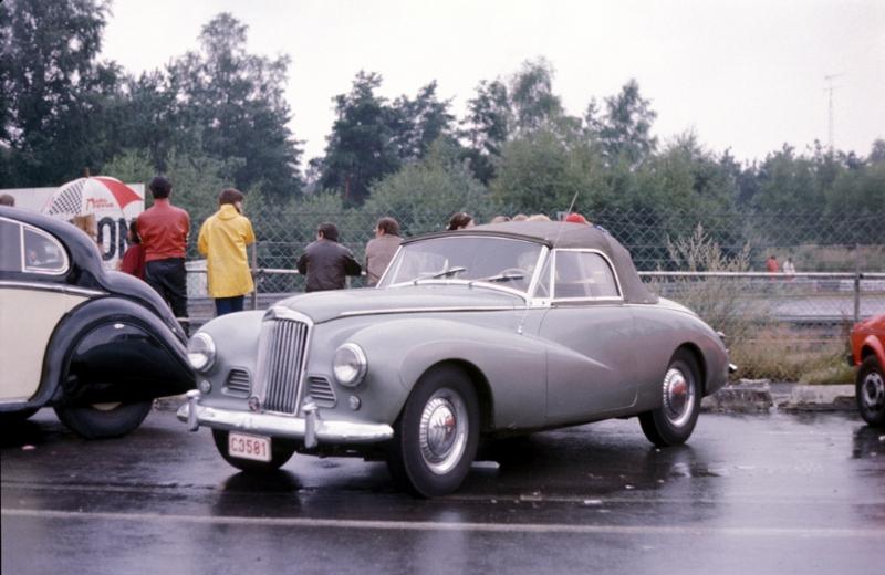 Sunbeam Alpine MKIII Sports Roadster (1954-1955) - 2267cc