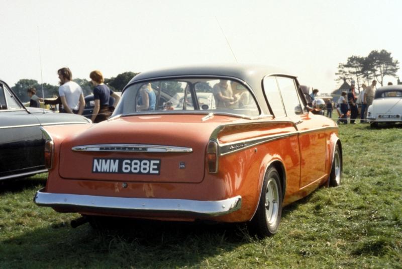 Sunbeam Rapier MKV (1965-1967) - 1725cc