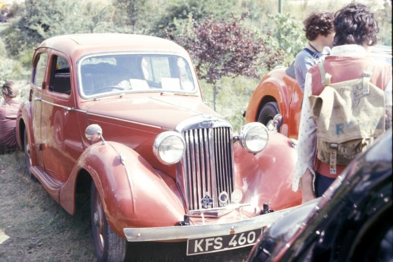 Sunbeam Talbot Ten Saloon (1938-1948) - 1184.5cc